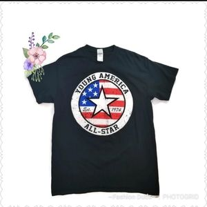YOUNG AMERICA ALL-STAR GRAPHIC T TEE M